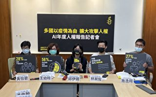 台民团报告:多国以疫情为由扩大攻击人权