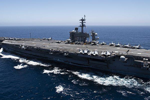 美中对峙 罗斯福号与辽宁舰近距400公里
