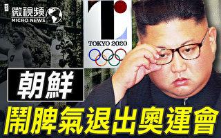 【微视频】朝鲜为何退出东京奥运会?