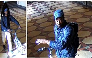 纽约市警公布法拉盛六福珠宝抢劫案嫌犯照片