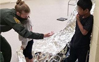 再有幼童越境後被遺棄 邊防員救護