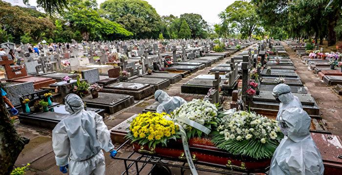 【疫情4.8】巴西單日死亡人數再創紀錄