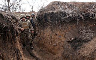 組圖:俄羅斯向烏克蘭邊界增兵 烏築防禦工事