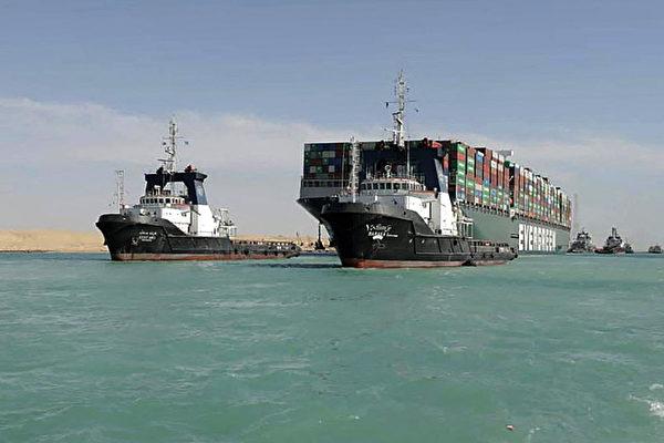 堵蘇伊士運河長賜輪被扣 貨物八成為中國出口