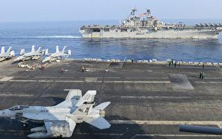 美航母打擊群和兩棲艦隊南海演習 視頻曝光