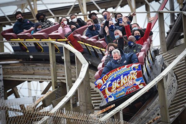 纽约康尼岛乐园重启 暂在周末营运