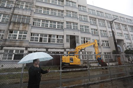 四六运指部行政大楼将拆除。