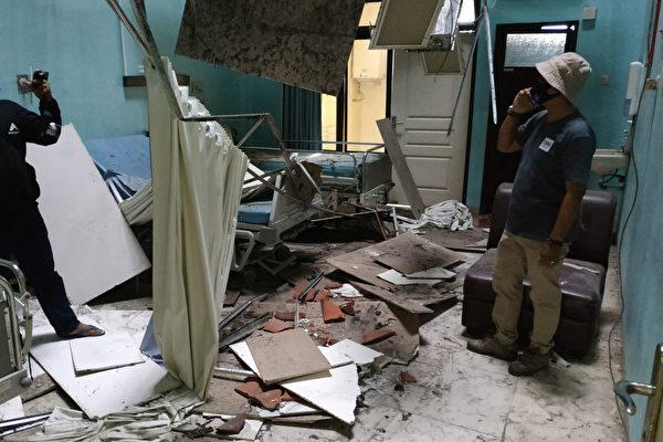 印尼發生5.9級地震 7死多城市建築受損
