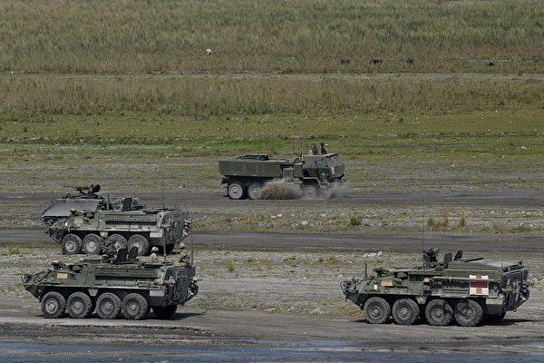 美菲防長通話 週一起舉行為期兩週軍演