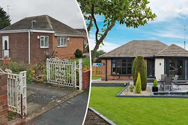 英國消防員將簡易平房打造成豪華住宅