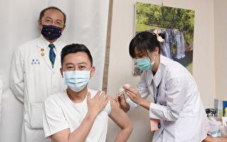 林智坚今接种AZ疫苗 呼吁民众施打构筑防护网