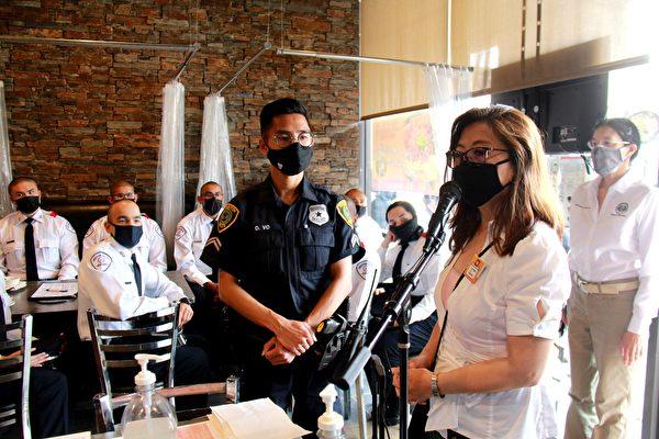 HPD警察学员 中国城多元文化之旅