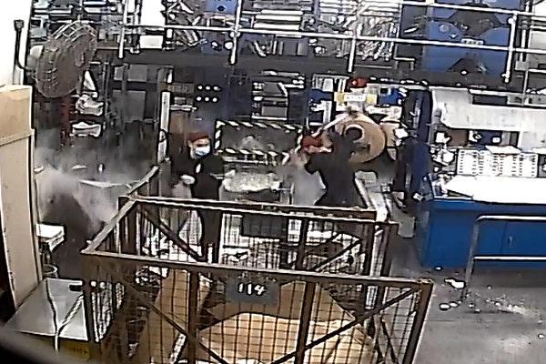 香港大纪元印刷厂遭袭 美多位国会议员谴责
