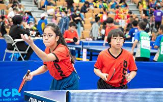 全國自由盃國小組個人桌球錦標賽開打