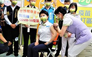 中市首长接种疫苗 3不舒服1发烧请假