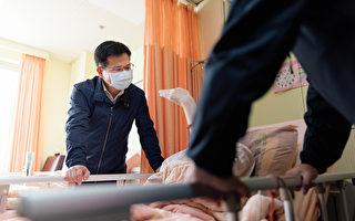 鄭文燦林佳龍部長 探視太魯閣號受傷桃園市民
