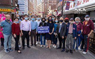 【视频】波士顿市长候选人吴弭拜会华埠商家