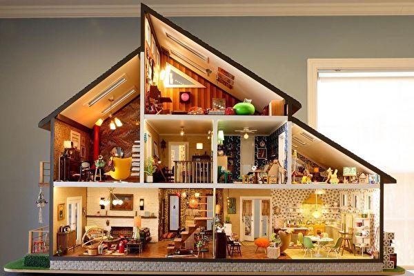 居家隔離時間 美國夫婦打造精巧迷你住宅