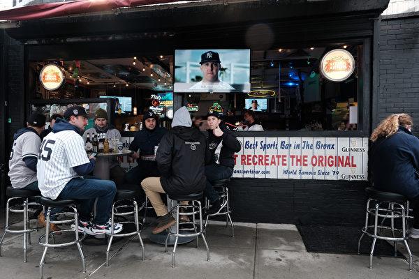紐約州餐館酒吧  營業時間可延長至晚上12點