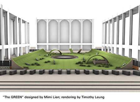 """林肯中心的""""绿意""""设计。"""