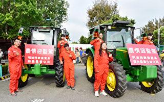 大甲媽祖進駐校園 明道國際生著傳統服飾接轎