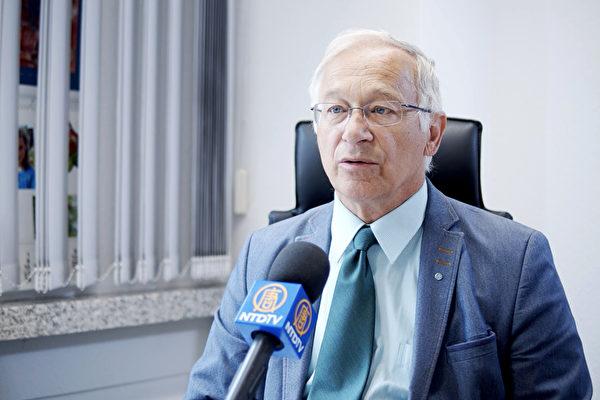 德國議員:大紀元印刷廠遇襲令人無法接受