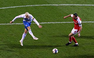 組圖:英冠第29輪補賽 羅瑟勒姆隊3:1勝QPR