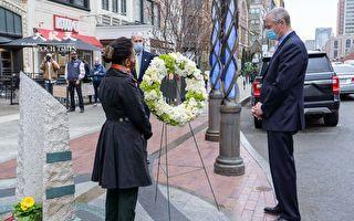 波馬爆炸案8週年 波士頓政要悼念罹難者