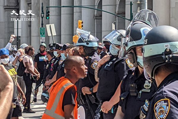 紐約市警局:準備好應對抗議活動