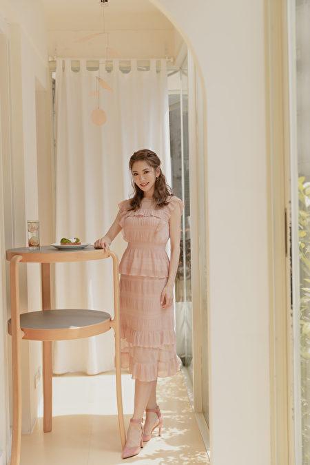 舒適、大方又有造型感的服裝,是楊千霈衣櫃中的必備清單。