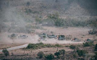 中共实弹军演之际 台湾三军举行联合作战训练