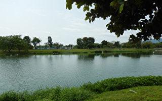 台湾古典诗:台东大学镜心湖