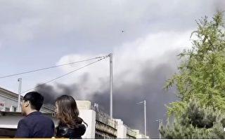 北京丰台一电站爆炸起火 烧近12小时