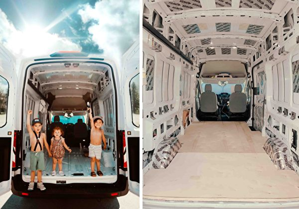 "id12887462 et van trip 89 7 78 600x420 - Converted vans into ""European huts"" for traveling parents   Mini House   Epoch Times"