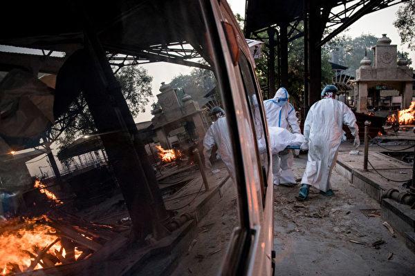 疫情加剧 印度首都告急 日增2万5千病例