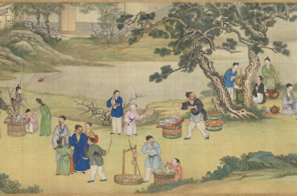 組圖:台灣故宮「畫琳瑯—貨郎圖」特展