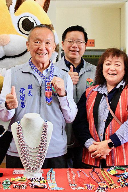 苗栗县长徐耀昌呼吁全县温泉业者动起来同享美食文创亲子之旅 带来钱潮。