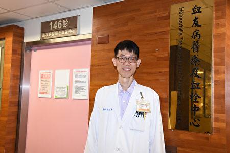 林炫聿医师表示,彰基对血友病患能提供除了现行健保给付的标准治疗以外,也跟得上国际趋势潮流更新、更好的治疗。