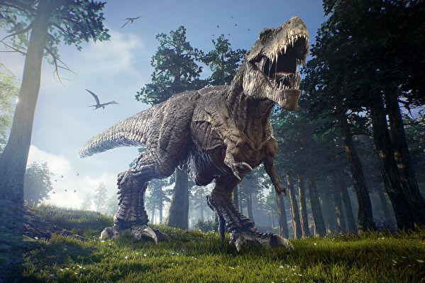 研究估算地球上曾有25億隻霸王龍