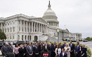 蓬佩奥现身国会山前 支持对伊朗最大施压法案