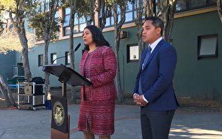 舊金山教委副主席易人 柯林斯求償8,700萬