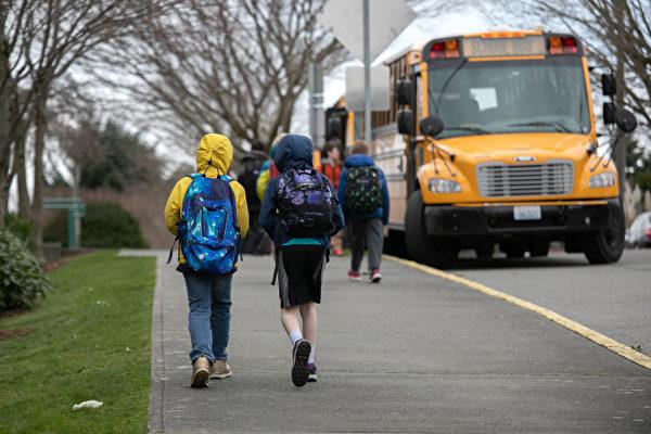 西雅图及周边学区学生返校上课