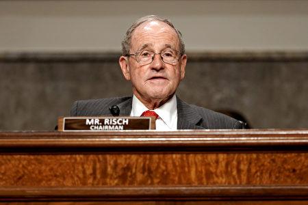 美国共和党籍联邦参议员里契(Jim Risch)。