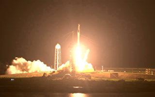 SpaceX载4名宇航员前往国际空间站