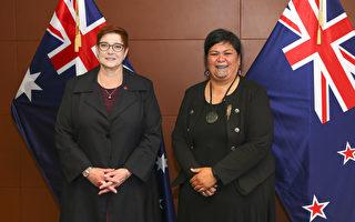 澳新外長互談中國及五眼聯盟職責問題