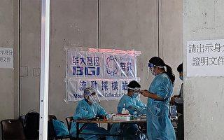 香港政府暫停華大基因流動採樣站
