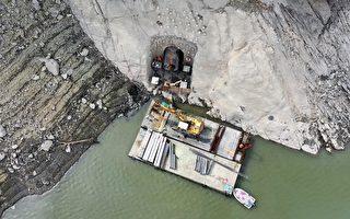 北水局赶办石门水库分层取水工下层取水口