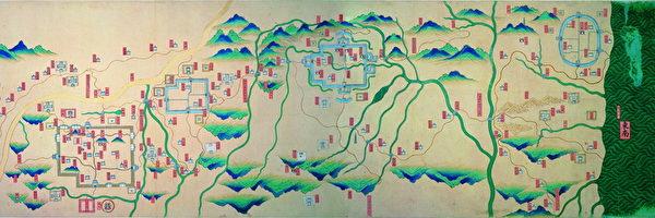 台灣故宮「說•古地圖」特展 訴說時代故事