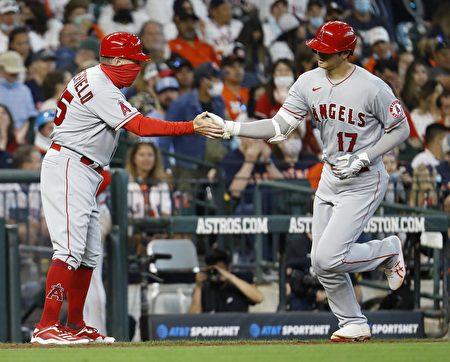 MLB大谷翔平第七轟 並列全壘打王