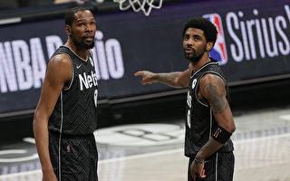 NBA杜兰特、欧文射日 篮网登东区龙头